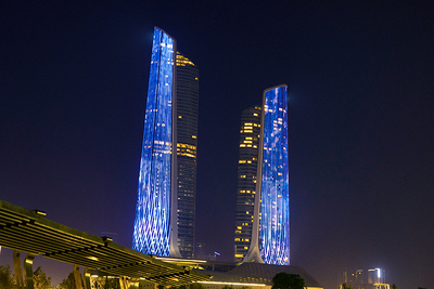 Nanjing Youth Olympic Twin Tower