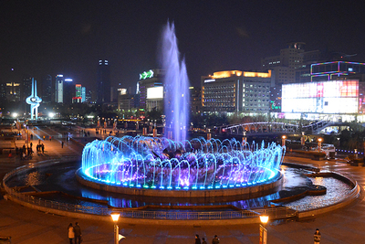 Quancheng Square Music Fountain